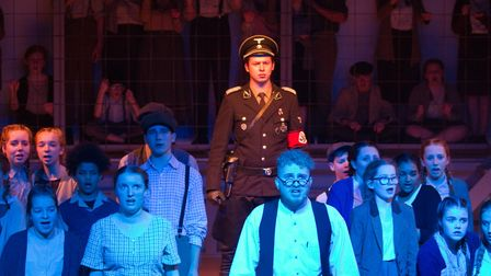 Sidmouth Youth Theatre's production of korczak. Ref shs 06 20TI 7642. Picture: Terry Ife