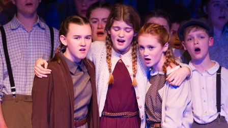 Sidmouth Youth Theatre's production of korczak. Ref shs 06 20TI 7637. Picture: Terry Ife