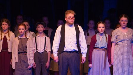 Sidmouth Youth Theatre's production of korczak. Ref shs 06 20TI 7633. Picture: Terry Ife