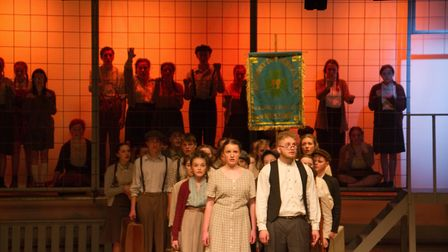 Sidmouth Youth Theatre's production of korczak. Ref shs 06 20TI 7630. Picture: Terry Ife