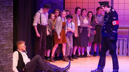 Sidmouth Youth Theatre's production of korczak. Ref shs 06 20TI 7882. Picture: Terry Ife