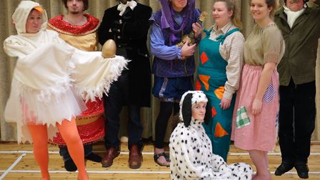 A scene from Mother Goose. Picture: Sidbury Into Drama