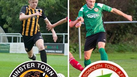 Axminster Town v Sidmouth Town preview. Pictures: (Left) ANDREW GRAHAM (RIGHT) Terry Ife