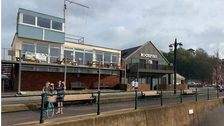 The design for the restaurant at Sidmouth's converted Drill Hall. Picture: Grainge Architects