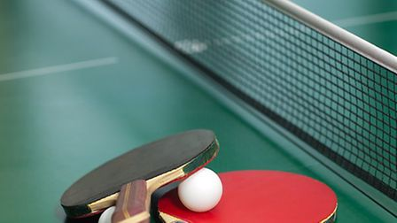 Table tennis. Picture ARCHANT