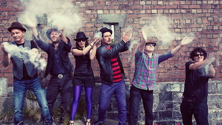 Mad Dog are one of the acts playing during the festival. Picture: Newt Fest