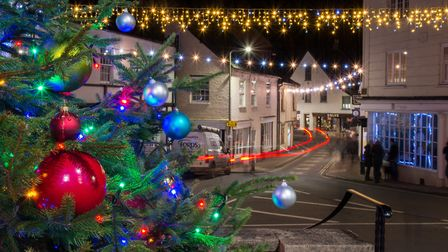 Ottery Christmas lights switch on, 2019. Picture: Alex Walton Photography