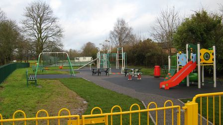 The new play area at Tipton. Picture: Tipton St John Playing Field Association