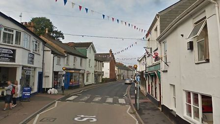 Mill Street, in Ottery St Mary. Picture: Google