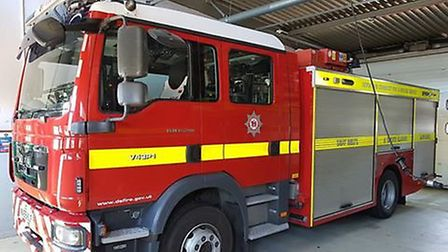 One of Sidmouth's fire appliances. Picture: Sidmouth Fire Station