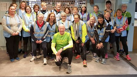 The Sidmouth Running Club 2020 Beginners Group. Picture SRC