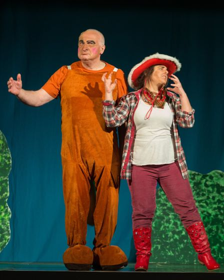 Peter's Pan pantomime perfomed by Ottery Community Theatre. Picture: Alex Walton