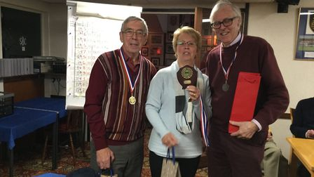 The winning team at the Sidmouth Bowls Club annual quiz. Picture: SBC