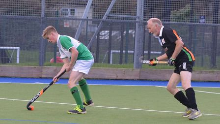 Sidmouth and Ottery Hockey Club men's fourth team versus Chard B. 141219. Picture: Geoff Webber