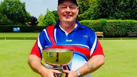 Ottery St Mary bowler Kevn Vernon who has been selected to represent his country at the Disability W