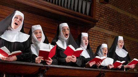 Sidmouth Musical Theatre is rehearsing for its June production of Sister Act. Picture: Brian Rees