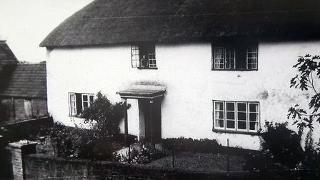 Mr Forrester's father took this photo of the honeymoon guest house in 1939. Picture: Lawrence Forres