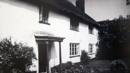 The honeymoon accommodation of Mr Forrester's parents, 1939. Picture: Lawrence Forrester