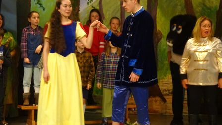 A scene from Snow White, by TIPPS. Picture: Shan Merritt