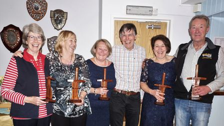 The Sidmouth Gig Club Awards Evening. Picture:SGC