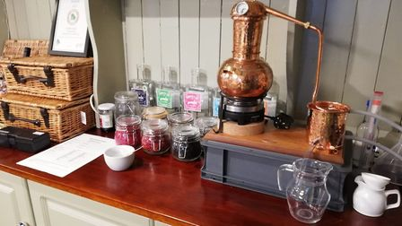 A gin school was held at The Dairy Shop, home if Sidmouth Gin. Picture: John Hammond