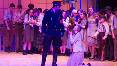 Sidmouth Youth Theatre's production of korczak. Ref shs 06 20TI 7878. Picture: Terry Ife