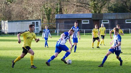 Ottery at home to Buckland Athletic. Ref shsp 06 20TI 7537. Picture: Terry Ife