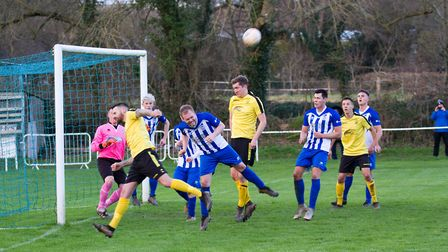 Ottery at home to Buckland Athletic. Ref shsp 06 20TI 7568. Picture: Terry Ife