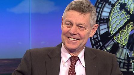 Matthew Parris appears on the BBC's Daily Politics. Photograph: BBC.