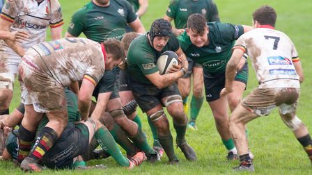 Sidmouth Chiefs win at home to Newton Abbot by 32 points to 9. Ref shsp 44 19TI 2752. Picture: Terry