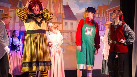 River side Players production of Jack and the Beanstalk. Ref shs 07 20TI 8232. Picture: Terry Ife