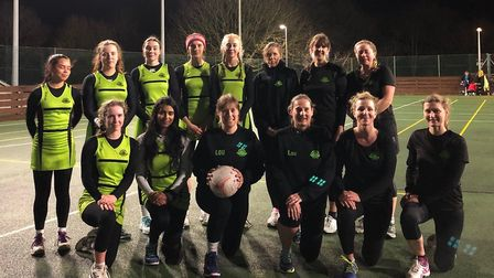 Sidmouth Netball Club teams Eagles and Toucans. Picture: SIDMOUTH NETBALL CLUB