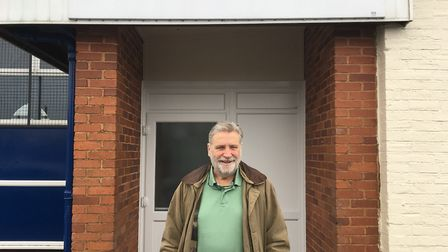 Mac Dick, chair of Ottery Station. Picture: Archant