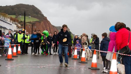 Sid Valley Rotary Club's pancake races Ref shs 08 20TI 8821 Picture: Terry Ife