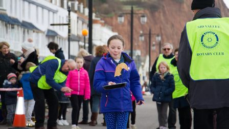 Sid Valley Rotary Club's pancake races Ref shs 08 20TI 8789 Picture: Terry Ife
