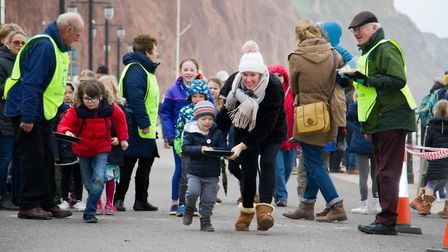 Sid Valley Rotary Club's pancake races Ref shs 08 20TI 8752 Picture: Terry Ife