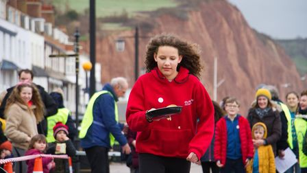 Sid Valley Rotary Club's pancake races Ref shs 08 20TI 8689 Picture: Terry Ife