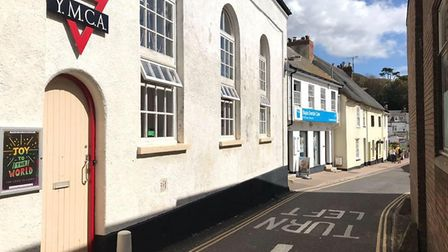 The Sidmouth YMCA. Picture: Barbara Oakes