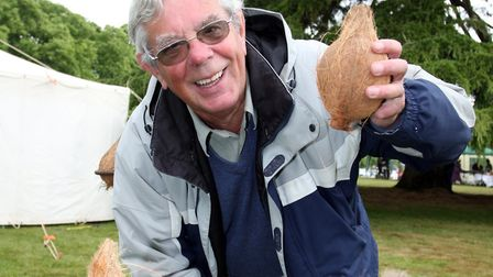 Graham Hembury pictured at the Cadhay May Fair. in 2010. Picture by Terry Ife Ref sho 6221-22-10TI