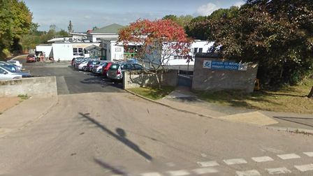 The headteacher of Ottery Primary School is self-isolating. Picture: Google