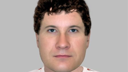 An E-fit image of the man police would like to speak to Picture: Devon and Cornwall Police
