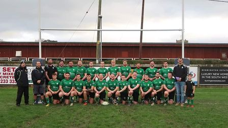 Sidmouth Quins who have been crowned Devon Merit Table two (NE) champions for the 2019/20 season. Pi