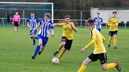 Ottery at home to Buckland Athletic. Ref shsp 06 20TI 7501. Picture: Terry Ife