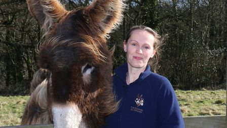 Dr Faith Burden, director of research and operational support at The Donkey Sanctuary Picture: Sim