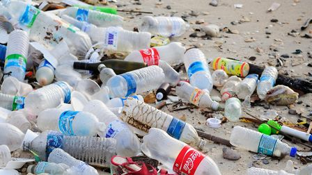 Both these entries focused on plastic pollution. Picture: Getty Images