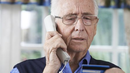 Don't give card details to cold callers. Picture: Getty Images