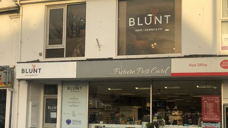 Blunt hairdressers in Sidmouth. Picture: Blunt