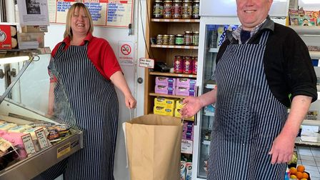 Drews Butchers Picture: Sid Valley food bank