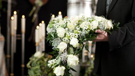 Funeral director Picture: Getty Images