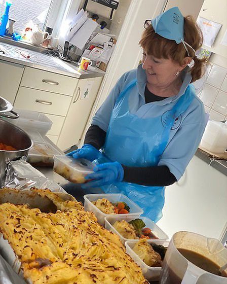 Meals are prepared in the kitchen at Twyford House Picture: Sidmouth Voluntary Services